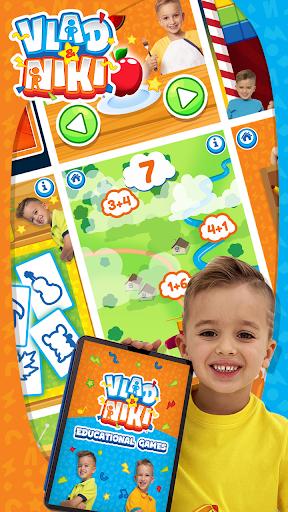 Vlad & Niki. Educational Games 1.9 screenshots 1