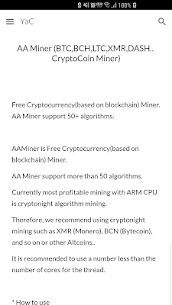 AA Miner (BTCLTCXMR.. CryptoCoin For Pc – (Free Download On Windows 7/8/10/mac) 1