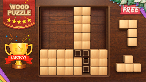 Wood Block Puzzle 3D - Classic Wood Block Puzzle apktram screenshots 16
