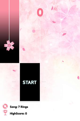 Ariana Piano Tiles Pink, Music & Magic  Screenshots 1