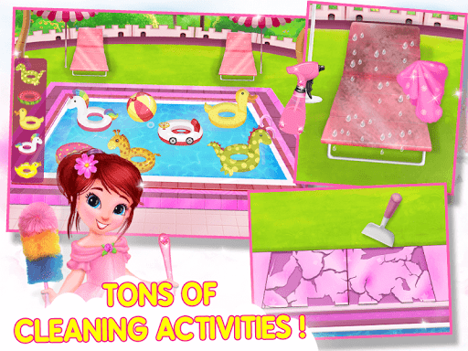 Princess House Cleanup For Girls: Keep Home Clean apkpoly screenshots 10