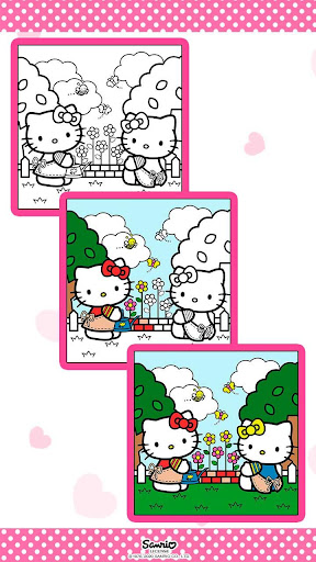 Hello Kitty Coloring Book 1.1.0 screenshots 11