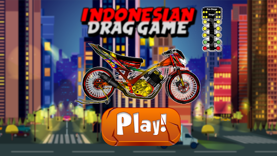 Indonesian Drag Bike Racing 1