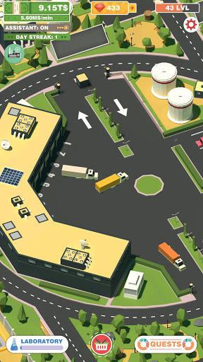 Idle Drink Factory Empire Tycoon - Manager Game Apkfinish screenshots 3