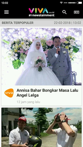 VIVA - Berita Terbaru - Streaming tvOne & ANTV 3.5.3 Screenshots 3