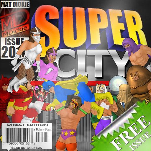 Super City (Superhero Sim)
