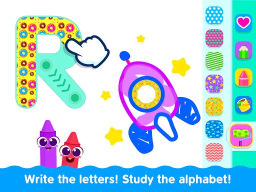 Bini Toddler Drawing Apps! Coloring Games for Kids apktram screenshots 12