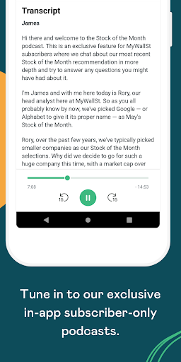 Foto do MyWallSt: Buy Stocks, Investment Research and News