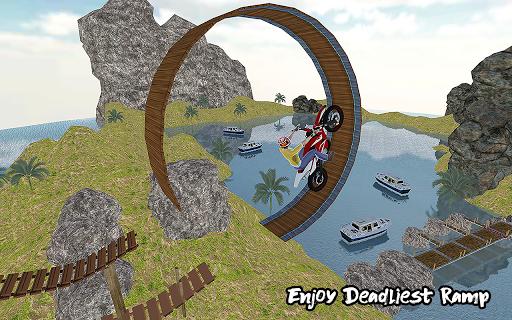 Ramp Bike Impossible Bike Stunt Game 2020 1.0.4 Screenshots 4