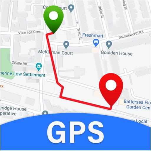 GPS Maps, Voice Navigation & Live Street View