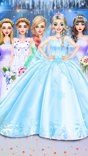 Ice Princess Wedding Dress Up Stylist 0.11 screenshots 6