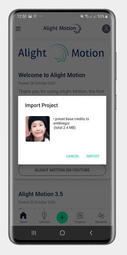 Alight Motion Presets 1.9 Screenshots 9