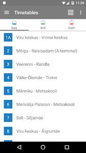 Tallinn Transport - timetables 8.3.7