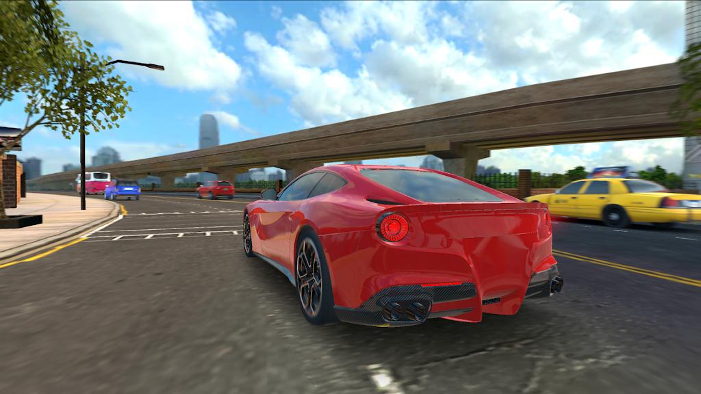 Racing in Car 2021 - POV traffic driving simulator  poster 3