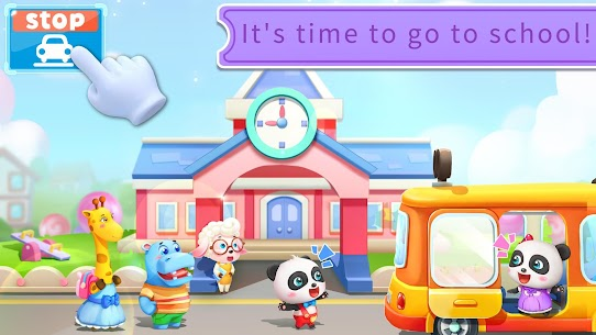 Baby Panda's School Bus – Let's Drive! 3