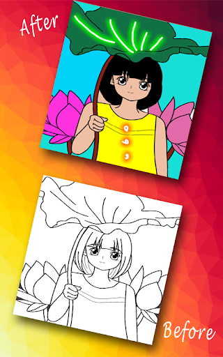 Paint The Sketch - A Coloring Game For Kids 1.4 screenshots 4