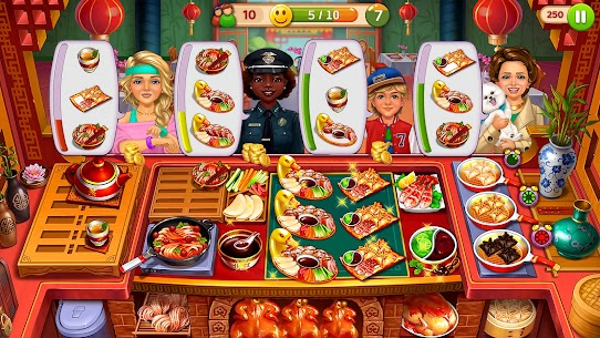 Hell's Cooking: Crazy Burger, Kitchen Fever Tycoon Mod Apk 1.80 (A Lot of Gold Coins) 4
