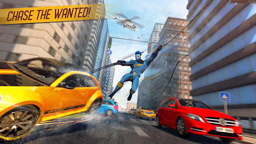 Rope Superhero War : Superhero Games : Rescue Hero 1.0 Screenshots 7