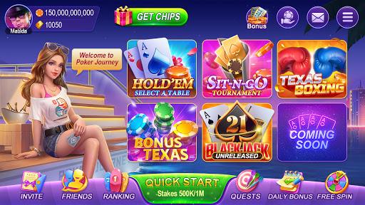 Poker Journey-Texas Hold'em Free Game Online Card 1.108 screenshots 13