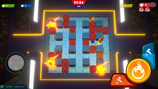 Bomb Bots Arena - Multiplayer Bomber Brawl  screenshots 2