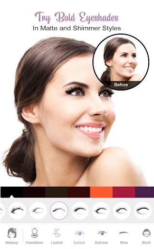 Perfect Sweet Makeup Camera-Virtual Makeover 1.0.0 Screenshots 2