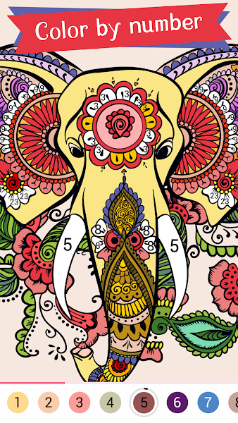 Paintist Relax - Coloring Book & Color by Number