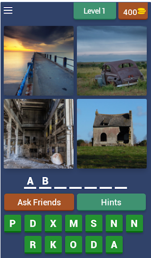 4 pics 1 word - guess words pic puzzle brain game screenshot 1