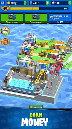 Idle Inventor - Factory Tycoon  screenshots 6