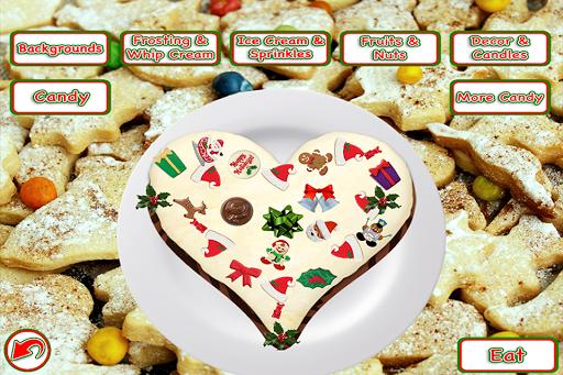Christmas Cake Maker Bake & Make Food Cooking Game screenshots 3