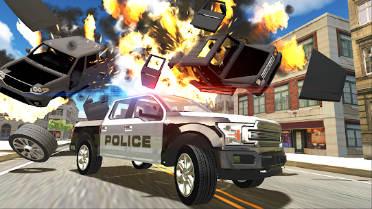 Police vs Gangsters 4×4 Offroad Mod Apk 1.1.1 (Endless Money) 5