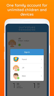 ourValues Smarter Screen Time & Parental Control 1.0.41 Screenshots 6