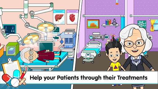 My Tizi Town Hospital - Doctor Games for Kids ud83cudfe5 screenshots 21