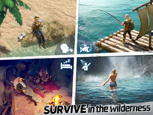 LOST in Blue: Survive the Zombie Islands apkdebit screenshots 9