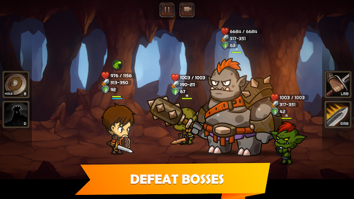 Kinda Heroes: Legendary RPG, Rescue the Princess! 2.14 screenshots 6