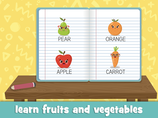 Learn fruits and vegetables - games for kids 1.5.4 screenshots 9