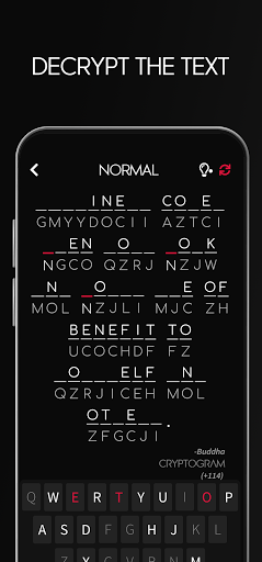 Cryptogram - Decrypt Quotes 1.0.0 screenshots 2