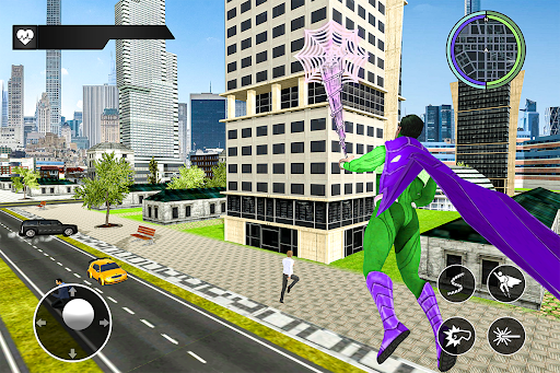 Black Rope Hero Vegas Mafia Superhero Crime Battle  screenshots 11