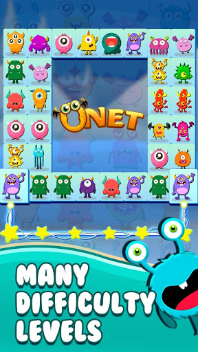 Onet Connect Monster - Play for fun apkslow screenshots 3