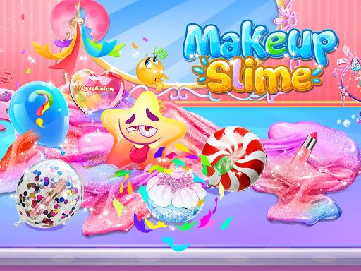 Bubble Balloon Makeup Slime  - Slime Simulator  screenshots 5