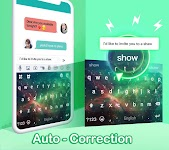 screenshot of Kika Keyboard 2021 - Emoji Keyboard, Stickers, GIF