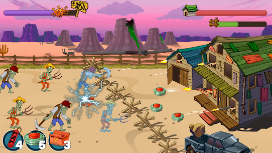 Zombies Ranch MOD APK (Unlimited Ammo/Money) 2