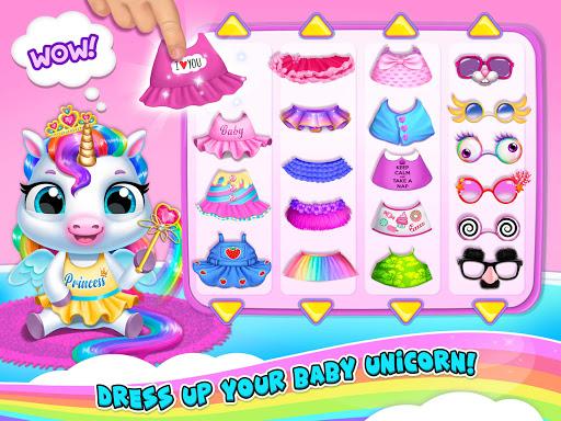 My Baby Unicorn 2 - New Virtual Pony Pet android2mod screenshots 19