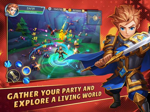 Oath of Glory - Action MMORPG apkdebit screenshots 6