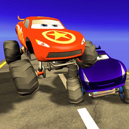 Super Kids Monster Truck Racing
