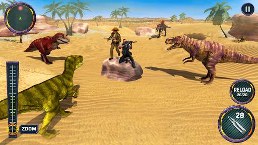 Dino Hunter 3D - Dinosaur Survival Games 2021 Apkfinish screenshots 4