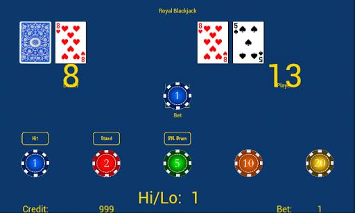 royal blackjack screenshot 1