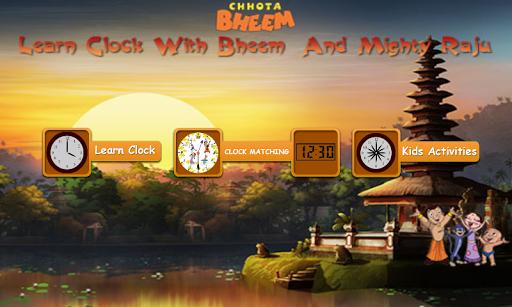 Learn Clock with Bheem 1.0.7 screenshots 1