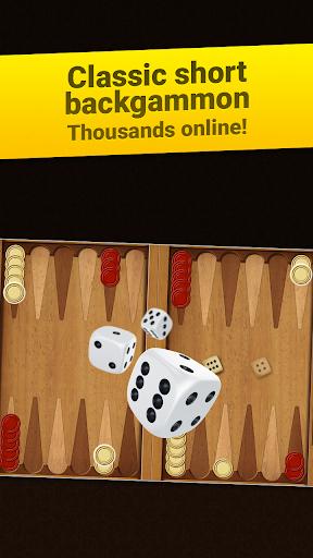 backgammon short arena: play online backgammon! screenshot 1