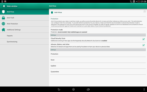Kaspersky Endpoint Security & Device Management 10.8.3.82 Screenshots 5