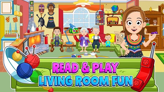 My Town : Grandparents Free For Android (MOD, Unlimited Money) 3